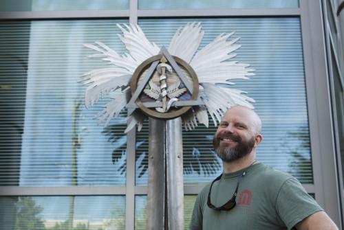 Sculpture Installed @ MUSC Dental Clinics Bldg
